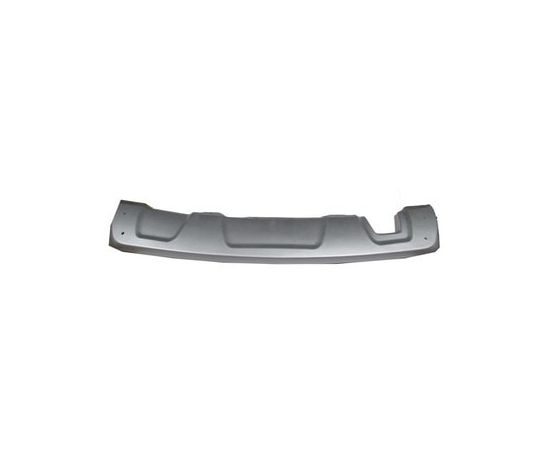 Dacıa Duster 2010-2017 Karlık Arka Tampon Altı Gümüş Gri Spoıler Stepway, image 1